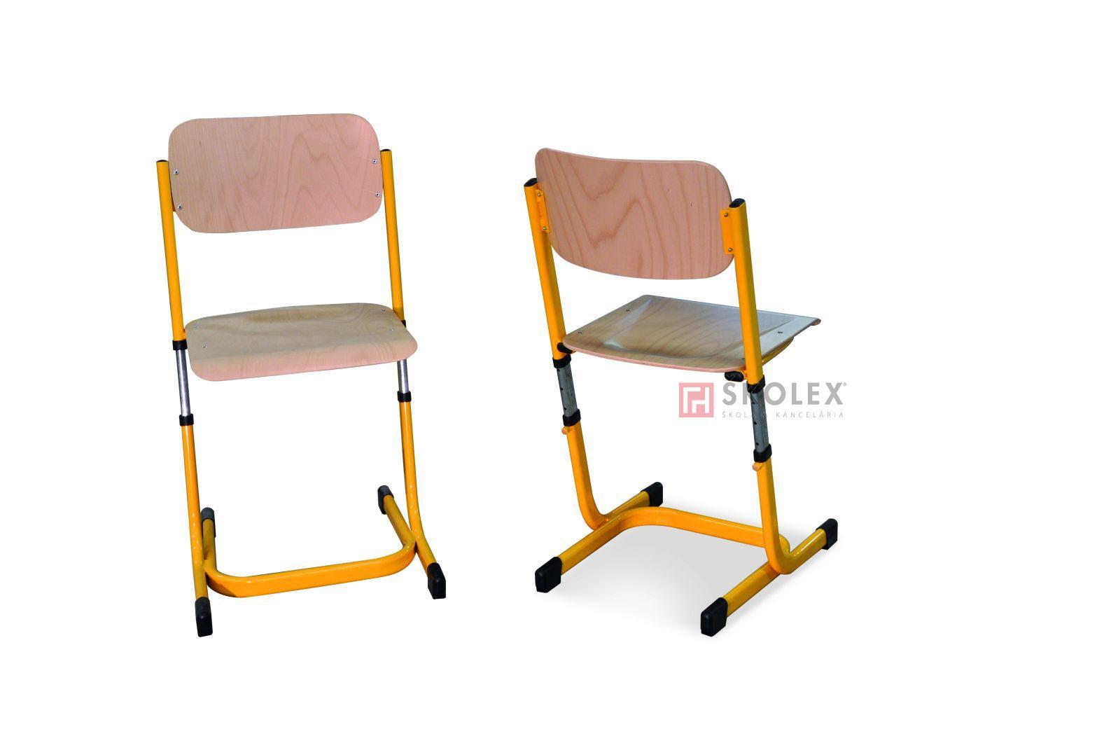 Stuhl schule  Höhenverstellbare schule stuhl / Skolex