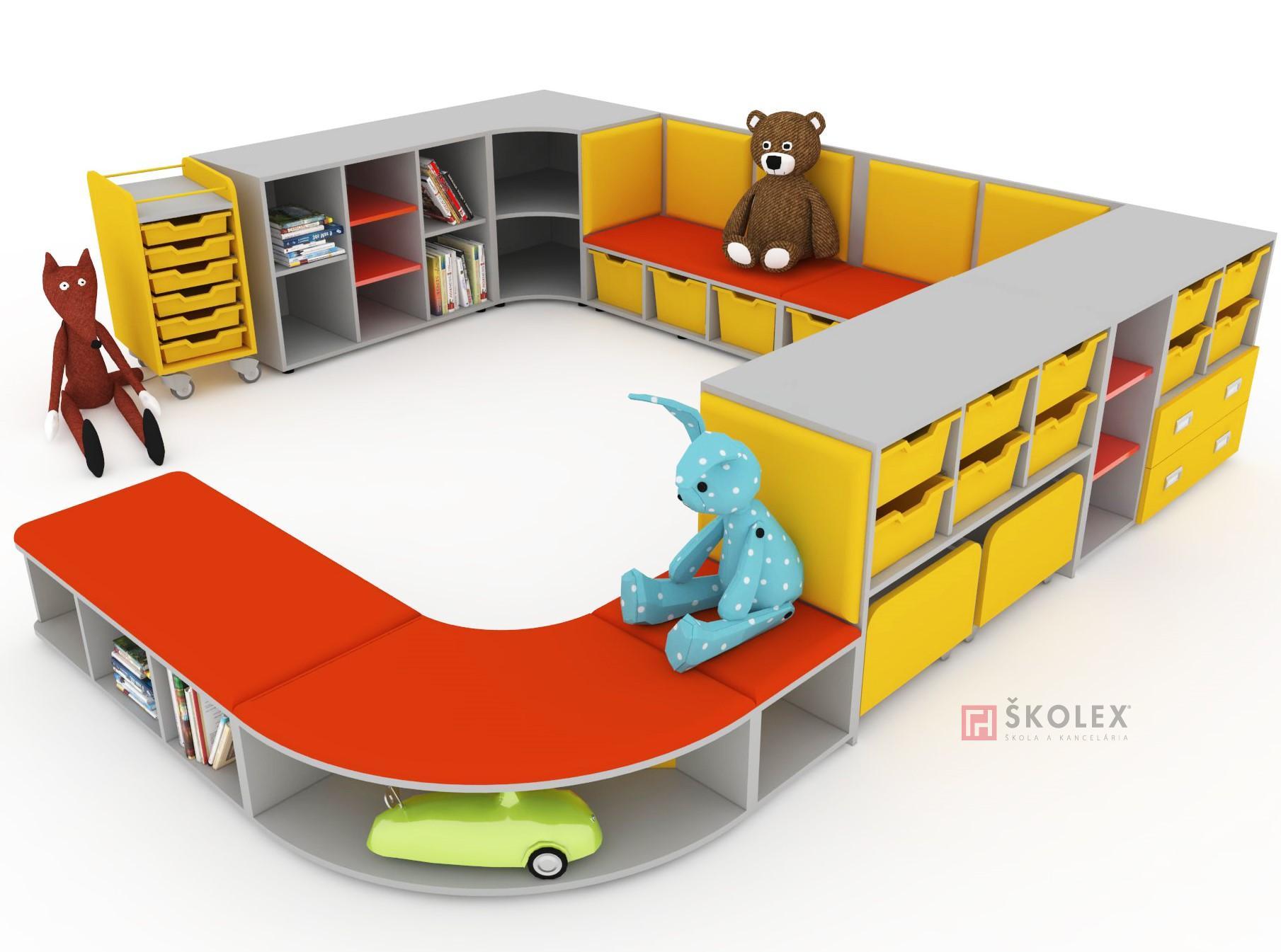 0f1b96b8934a Möbel für die Vorschule   Nábytok NELI   Skolex